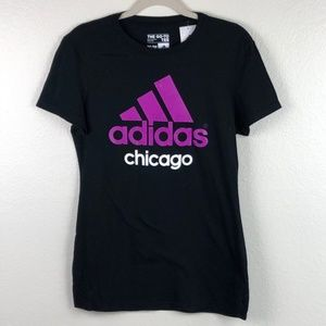 NEW Adidas Chicago The Go To  Graphic Tee